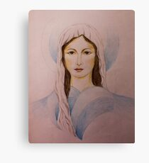Young Mary Canvas Print