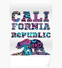 California Republic Color Poster