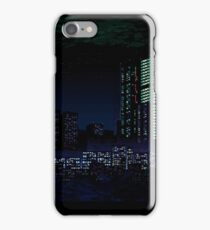 Va-11 Hall-A city scape iPhone Case/Skin