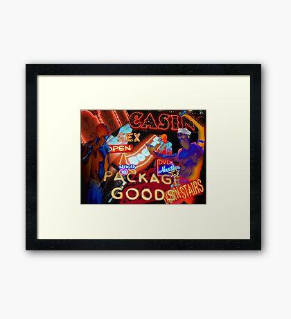 Package Goods Framed Print