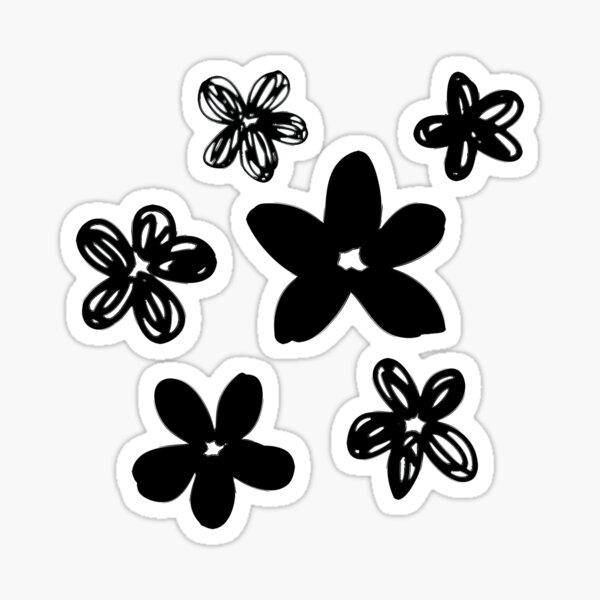 Bianco E Nero Stickers Redbubble