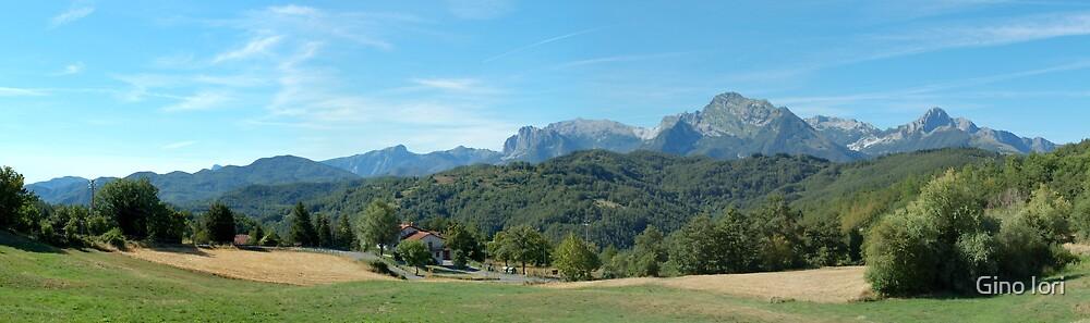 Panorama from Giucugnano by Gino Iori