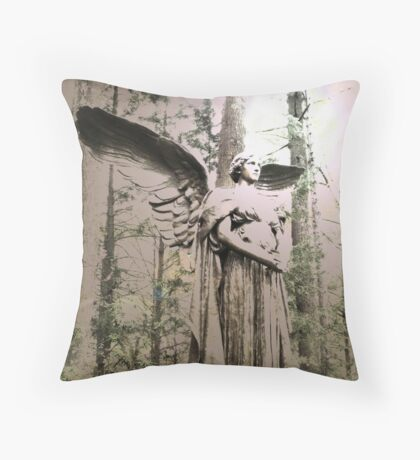 At The Edge Of The World Throw Pillow