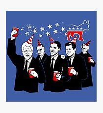 Democratic Party Photographic Print