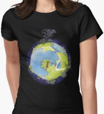 Yes - Fragile Women's Fitted T-Shirt