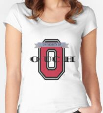 OUCH University - Shirts & Gear Women's Fitted Scoop T-Shirt