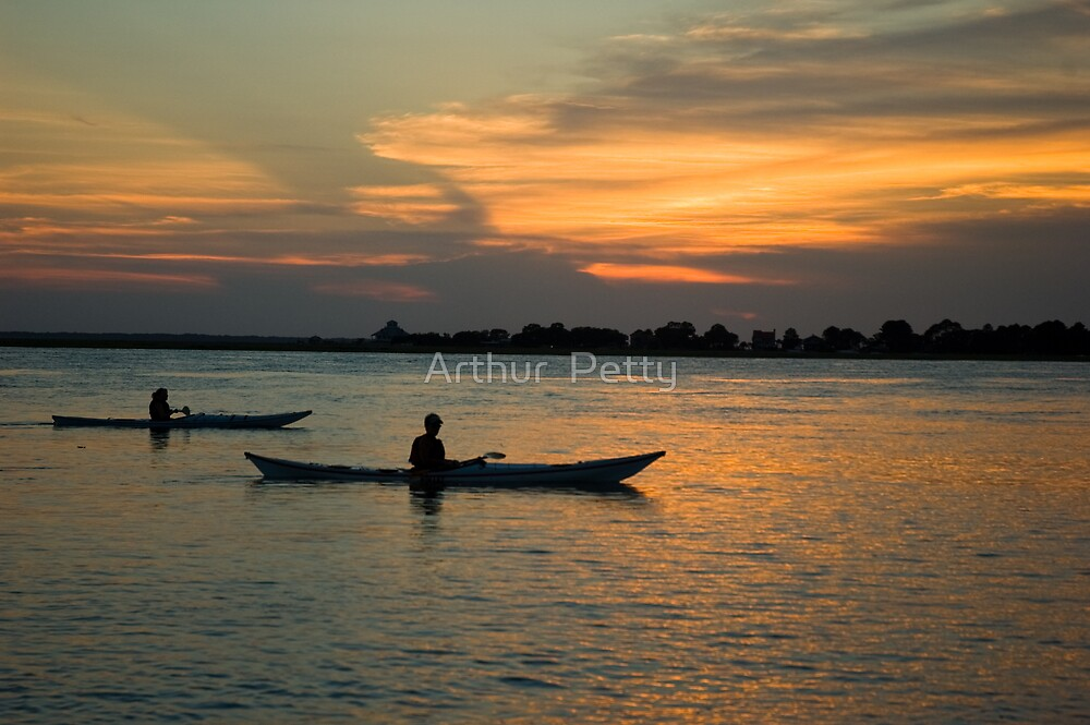 "Paddling Thru The Sun by Arthur ""Butch"" Petty"