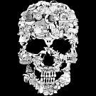 Clip Art Skull by Tom Burns