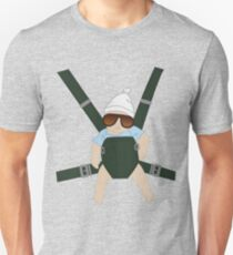 Hangover Baby Carlos in Carrier Unisex T-Shirt