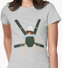 Hangover Baby Carlos in Carrier Women's Fitted T-Shirt