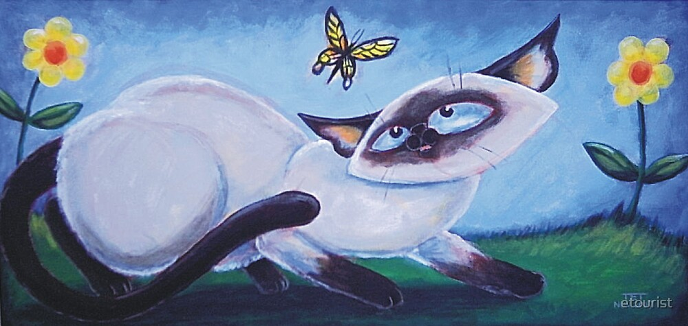 Butterfly Blue Eyes - Art by TET by etourist