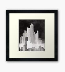 Edinburgh study Framed Print