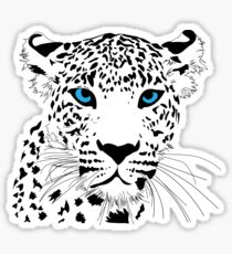 Cheetah graphic Sticker