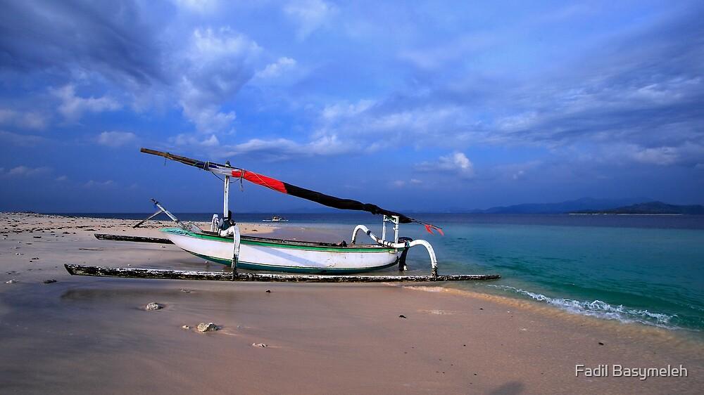 Humble Sail Boat by Fadil Basymeleh