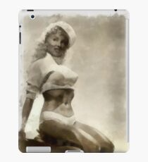 Vintage Pinup by Frank Falcon iPad Case/Skin