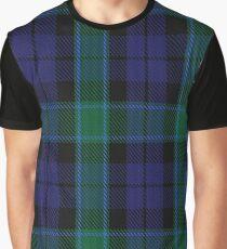 Graham of Menteith Clan/Family Tartan  Graphic T-Shirt