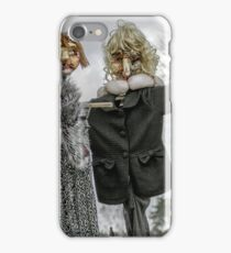 Scarecrow in human clothes iPhone Case/Skin