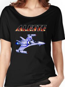 Aleste - Title Screen Women's Relaxed Fit T-Shirt