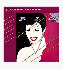 Duran Duran Rio Photographic Print
