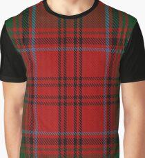 Grant Clan/Family Tartan  Graphic T-Shirt