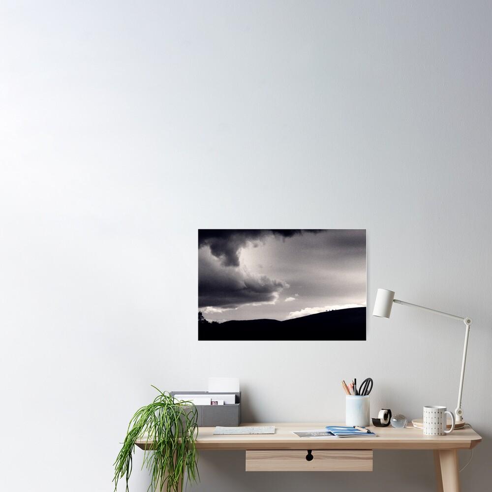 Heavy sky Poster