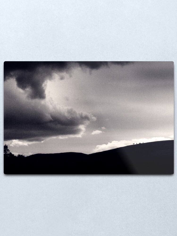 Alternate view of Heavy sky Metal Print
