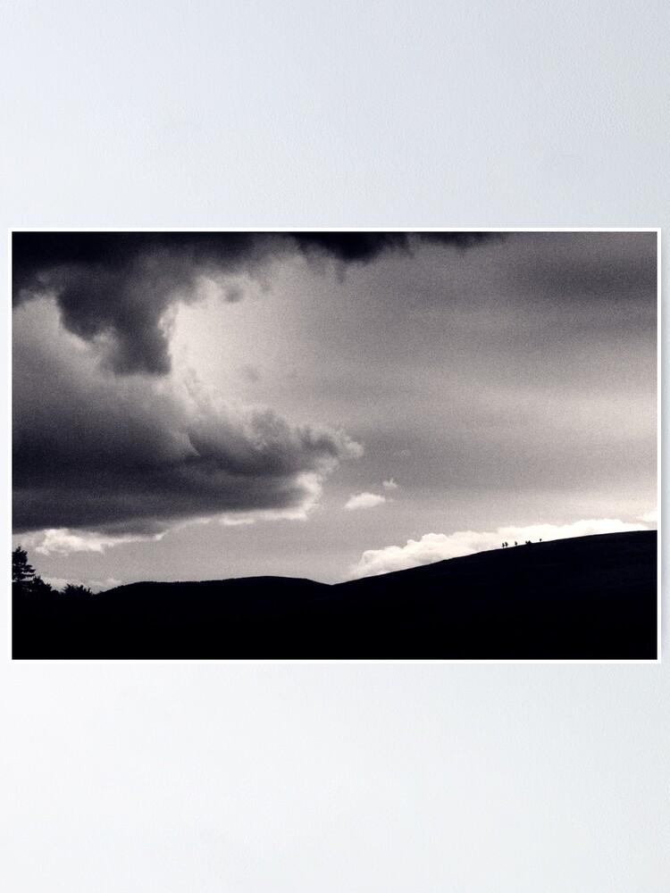 Alternate view of Heavy sky Poster
