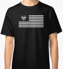 USA Love -  American Flag Style Classic T-Shirt