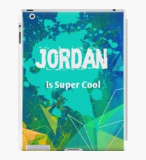 Jordan is Super Cool iPad Case/Skin