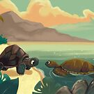 The Tortoise and The Turtle by CarpinArtwork