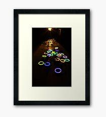 Electric Vespers Framed Print