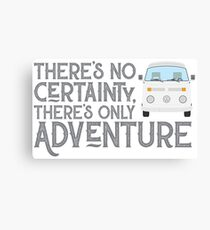 WESTY ADVENTURE (white) Canvas Print