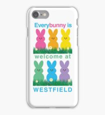 EVERYBUNNY is welcome! iPhone Case/Skin