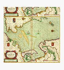 north sea map Photographic Print