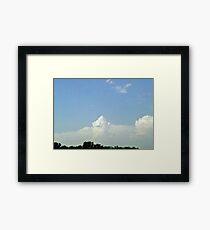 turret cloud Framed Print