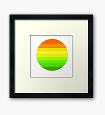 sunsets Framed Print