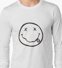 OFF MY SMILEY FACE Long Sleeve T-Shirt