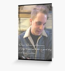 Dear Evan Hansen Original Photo Greeting Card