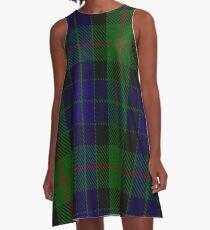 Gunn Clan/Family Tartan A-Line Dress