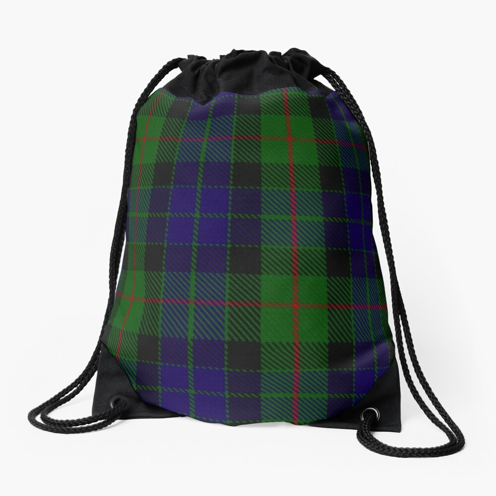Gunn Clan/Family Tartan Drawstring Bag