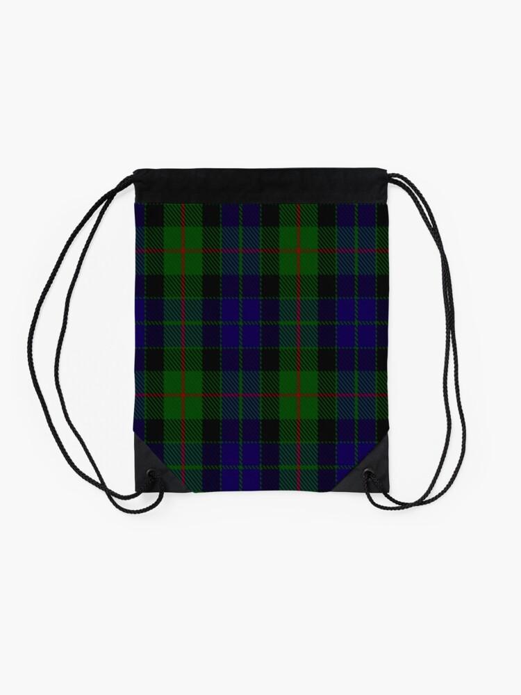 Alternate view of Gunn Clan/Family Tartan Drawstring Bag