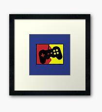 video games Framed Print