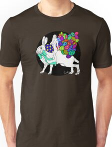 The Hare and the Easter Egg Huntress Unisex T-Shirt