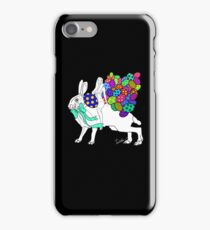 The Hare and the Easter Egg Huntress iPhone Case/Skin