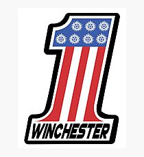 Supernatural - Winchester #1 Photographic Print