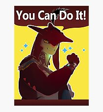 YOU CAN DO IT! Photographic Print