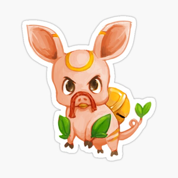 Floating Pig - MeatPossible Sticker