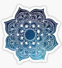 Mandala starry night sky Sticker