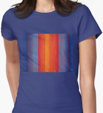 Curtain Call original painting Womens Fitted T-Shirt