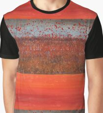 Hedgerow with Balloons original painting Graphic T-Shirt